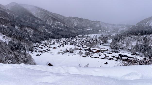 shirakawago village winter japan 335224 184