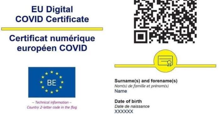 certificat de vaccinare